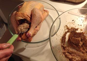 poulet fermier preparation